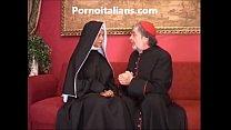 with ass the in fucks slut sister - vescovo col culo in scopa troia Suora