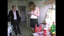 bonne punition pour la belle blonde qui trompe son mari french amateur