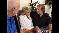 Blonde Swinger Slut Mrs. Wolf Abused thumbnail