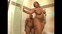 sky black having sex in the shower