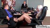 (Holly Heart) Busty Sexy Office Girl Busy In Ha...