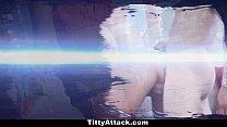 TittyAttack- Cyrstal Rae Hardcore Titty Fuck