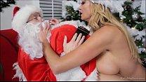 ho ho ho kelly madison is gonna make santa blow