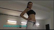 Nasty brunette does hot blow job and lapdance porn videos