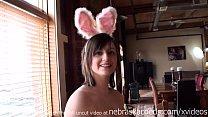 hot wife naked easter egg hunt she loves playin...