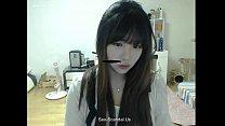 Pretty korean girl recording on camera 4 porn videos