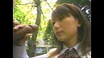 japanese schoolgirl blowjob in the park