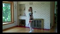 Very hot dance girl strips