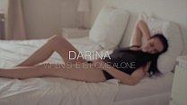Brunette Darina is home alone - see her masturb...