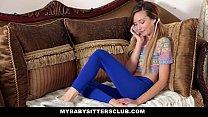 MyBabySittersClub - Skinny Baby Sitter Caught M...