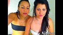 line on camara web la a frente cogen se lesbianas de Pareja