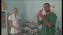 Young European Nurse Masturbating And Fucking A...