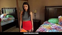 dadcrush   learning how to touch herself from step dad