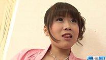tai phim sex -xem phim sex Ririka Suzuki needy milf kneels in front of a b...