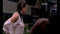 Ana Paula troca de biquini e mostra a buceta BBB16