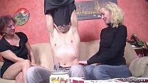 Two German MILF Teach Young Virgin Boy to Fuck porn videos