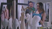 The Bride sucking Juelz Venturas big cock deep throat porn videos