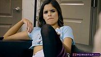 Latina stepsister Katya Rodriguez seduces her stepbro porn videos