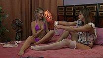 Innocent teen and her mature friend - Lena Nicole, Tara Morgan