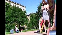 imbecile young teen bella teasing open air