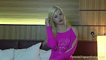 Hot Portuguese Blonde Solo Masturbation and Orgasms porn videos