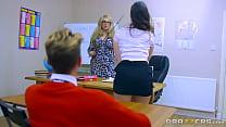 Nekanne BRAZZERS - DIRTY TEEN STUDENTS FUCK AT SCHOOL porn videos