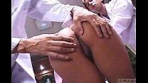 Uncensored Japanese nurse CMNF anal inspection Subtitled porn videos