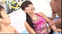 Akane Ozora enjoys Asian gangbang in hardcore porn videos