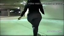 phat ass bbw n tight jeans walk away