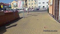 Czech amateur fucking pov in public for cash porn videos