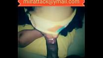 Latina Milf Swallows cum from BBC milfattack thumbnail