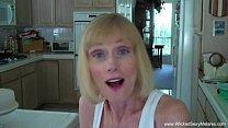 Son Convinces Mom To Creampie porn videos