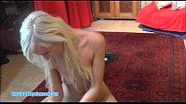 Amateur Czech blonde lapdances and and gets fingered porn videos