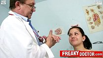 doctor daddy by fingered gets monika brunette czech Hot