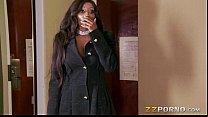 Ebony milf Diamond Jackson with huge boobs hard...