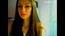 Hot Slim Teen Girl Striptease On Cam - CamBad.com