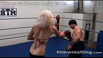 Hooker Beatdown - Maledom Halloween Match porn videos
