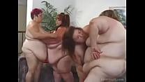 increible lesbica Orgia
