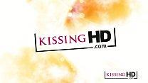 Kissing HD Cute girl next door kisses and sucks...