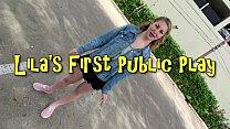 Lila Frey's First Public Fuck porn videos