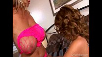 Big Titted MILFs Lick Each Other Dry