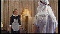 Demia Moor, Naughty Maid enjoys DP porn videos