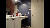 VanessaTV cumshot in the bathroom