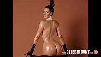 show on pussy celebrity latina kardashian Kim