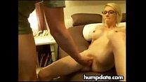 Skinny blonde wife gets fucked