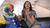 clown cockriding milf stockings British