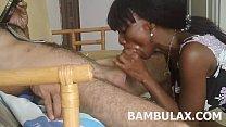 mouth in cum blowjob amateur teen Ebony
