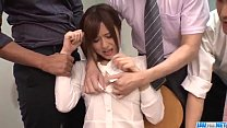 Yumi Maeda starts having sex at work with her c...