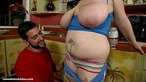 Chubby Teen With Big Boobs N Belly Sucks Huge Cock porn videos