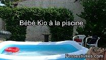 Bébé Kio à la piscine CLIP